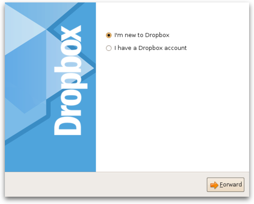 Setup Dropbox on Linux